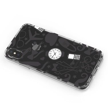 Lopard iPhone Xs Max Kılıf Silikon Arka Koruma Kapak Kiyafetler Desenli Renkli